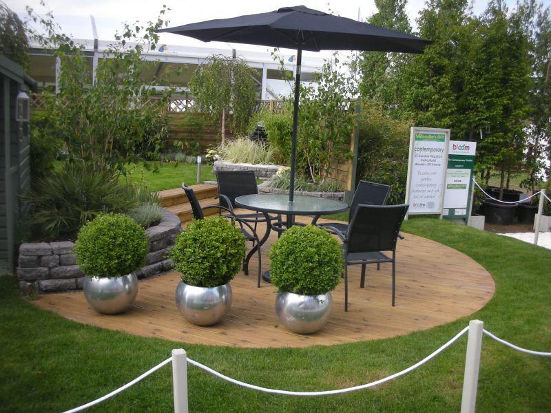 Garden Design Rectangular Plot split level garden - hayes ryan landscape gardeners kildare
