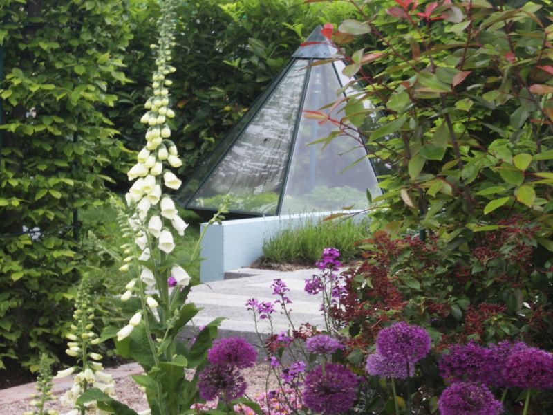 the planting design is based primarily on textural contrast a modern award winning garden design from bloom 2014 the design incorporates the creative use